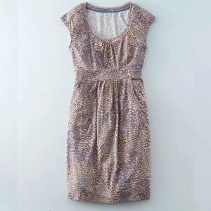 NWOT Boden Jersey Casual Floral Weekend Dress